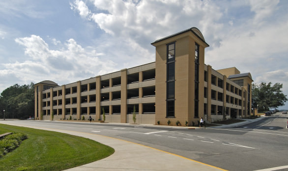 Bob Jones University Parking Deck
