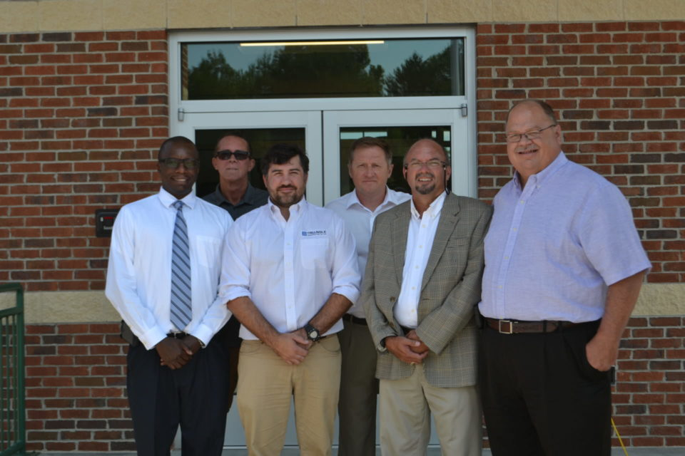 greer middle college ribbon cutting