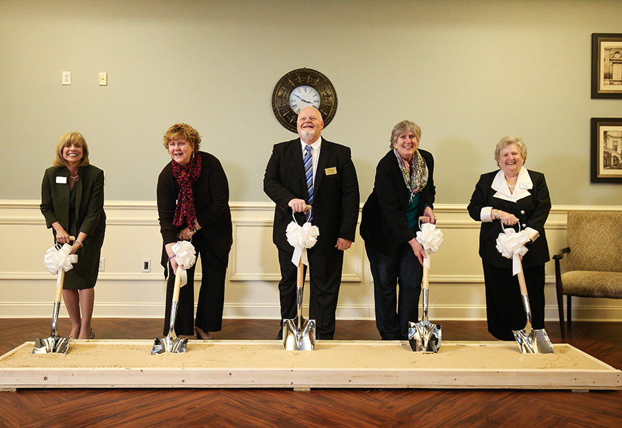 Woodlands at Furman Project Officially Commences