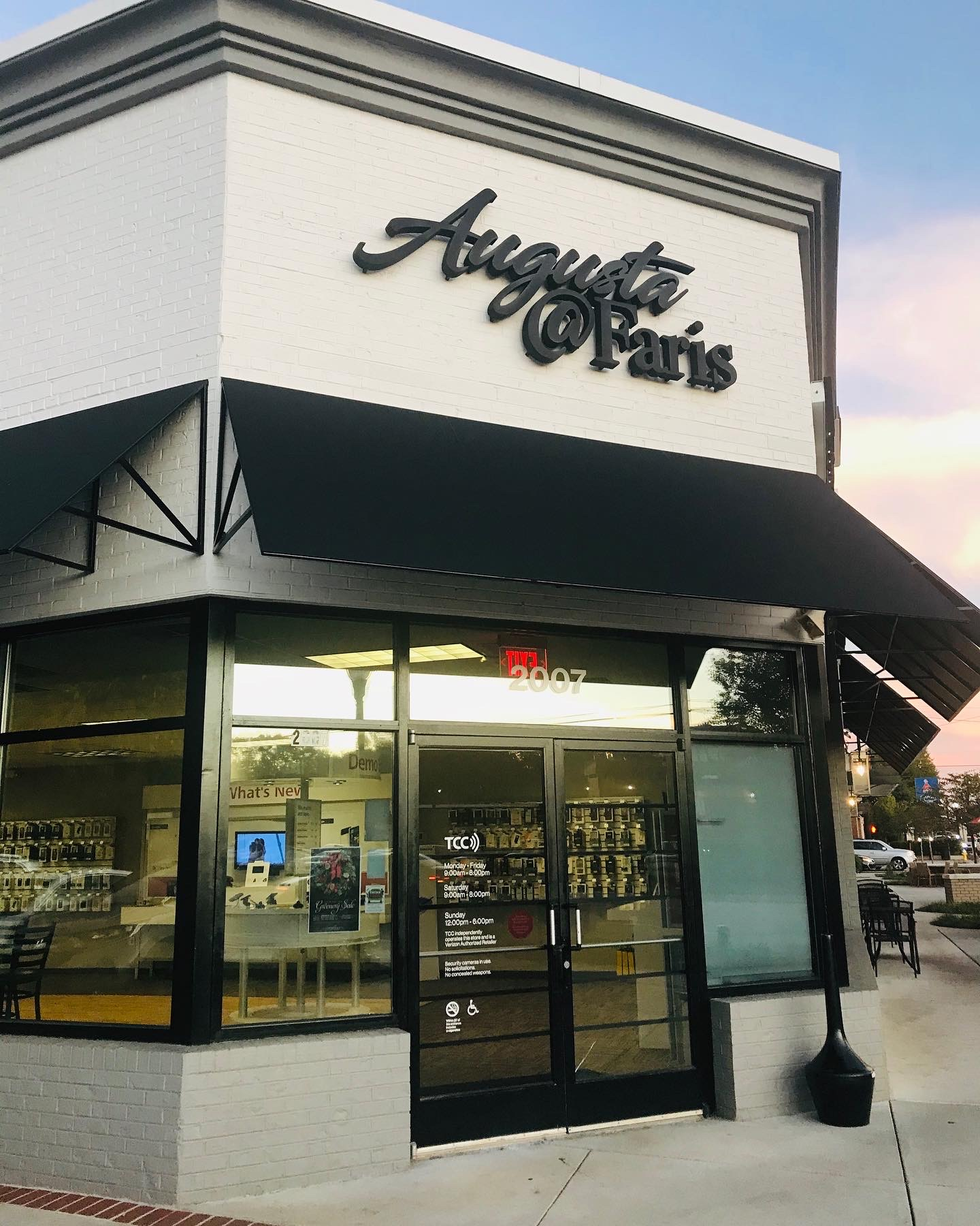 Renovations Complete at Augusta @ Faris Shopping Center