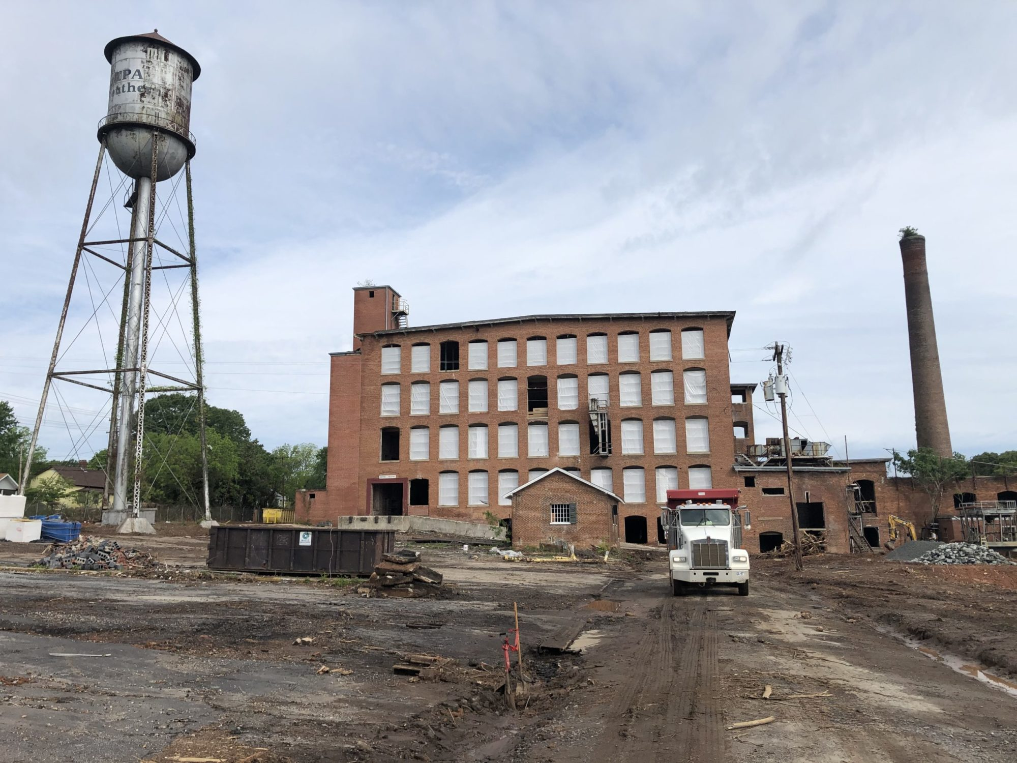Triangle mobilizes at Easley Mill for Historic Preservation