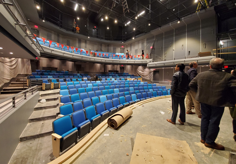 Construction Nearly Complete at SC Children's Theatre