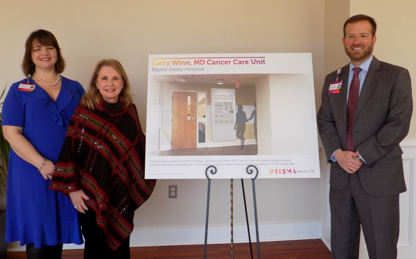 Triangle Mobilizes at Prisma Health Baptist Easley Hospital for New Cancer Care Unit